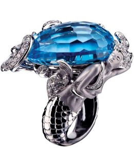 Mermaid Ring by Magerit