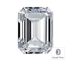 3.03-Carat Emerald Cut Diamond