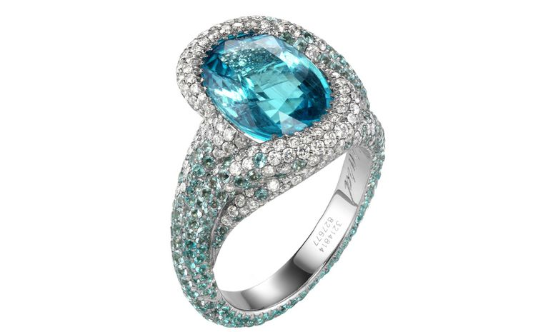 Engagement Rings Bring On The Color Gorgeous Gems And