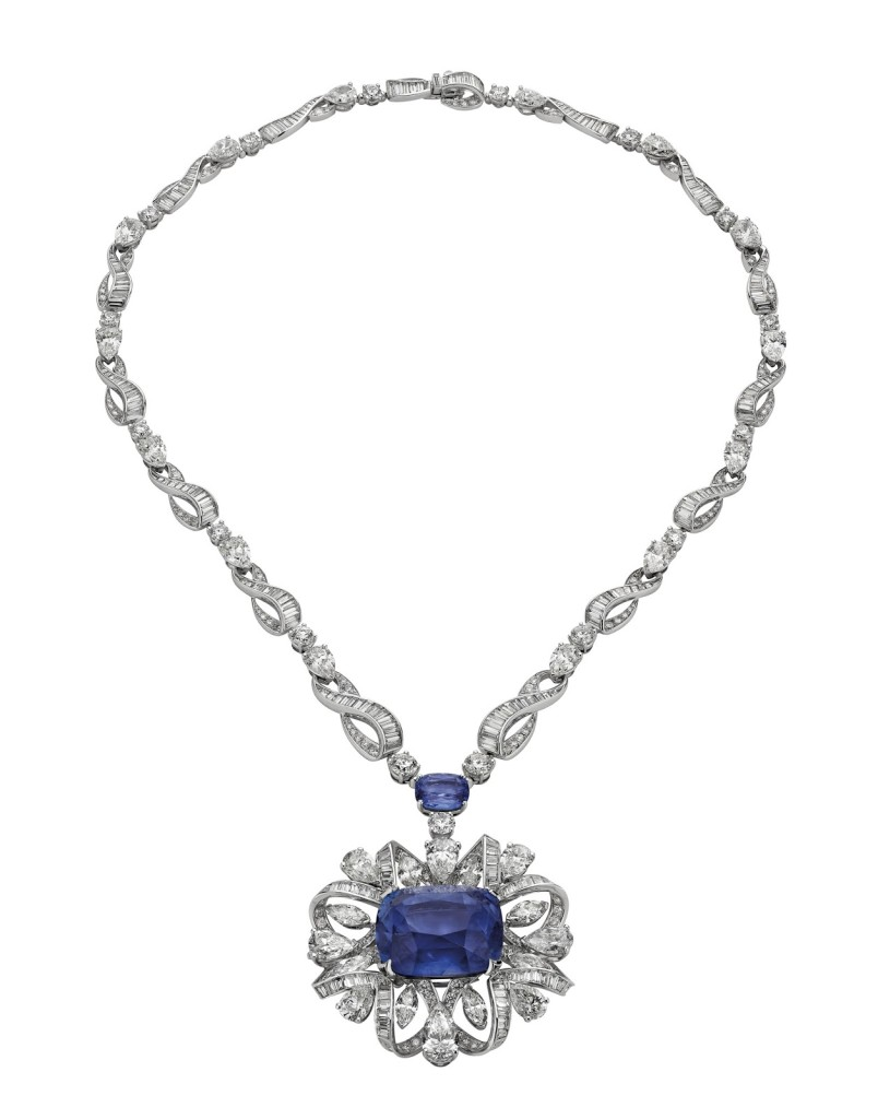"Bulgari's ""Water Symphony"" necklace"