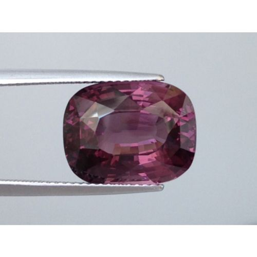 Natural Spinel 10.23 carats Purple color Octagonal shape very eye clean