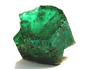 "Dubbed the ""Carolina Emperor,"" the gem has been trimmed to 64.83 carats and is called the largest cut emerald ever found in North America. It is being compared to an emerald that once belonged to Catherine the Great of Russia."