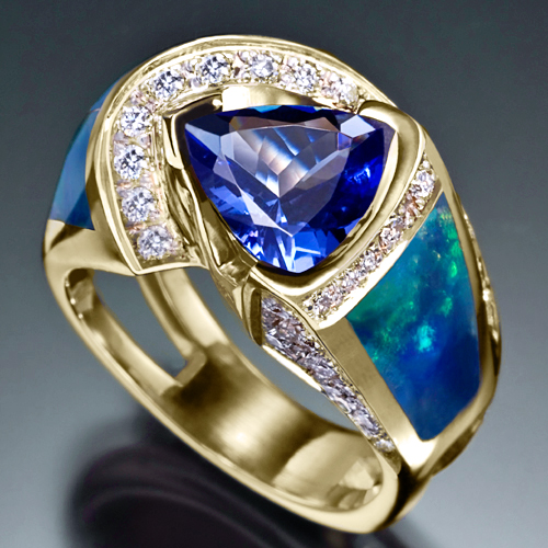 Gorgeous Tanzanite Ring
