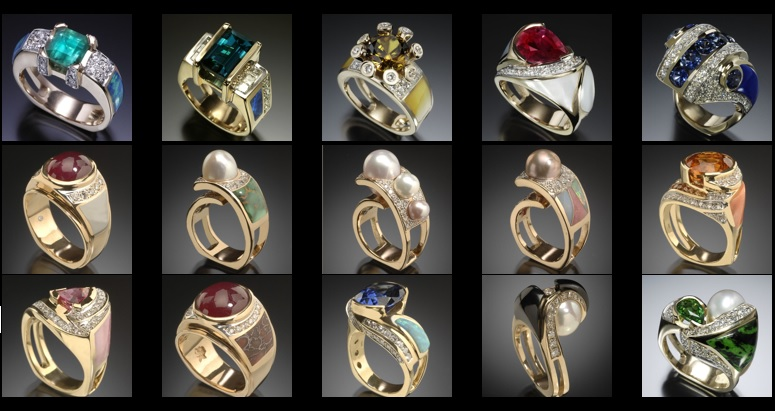 New Ring Designs by Randy Polk Jewelry