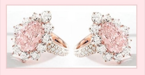 Gorgeous Pink Diamond Ring