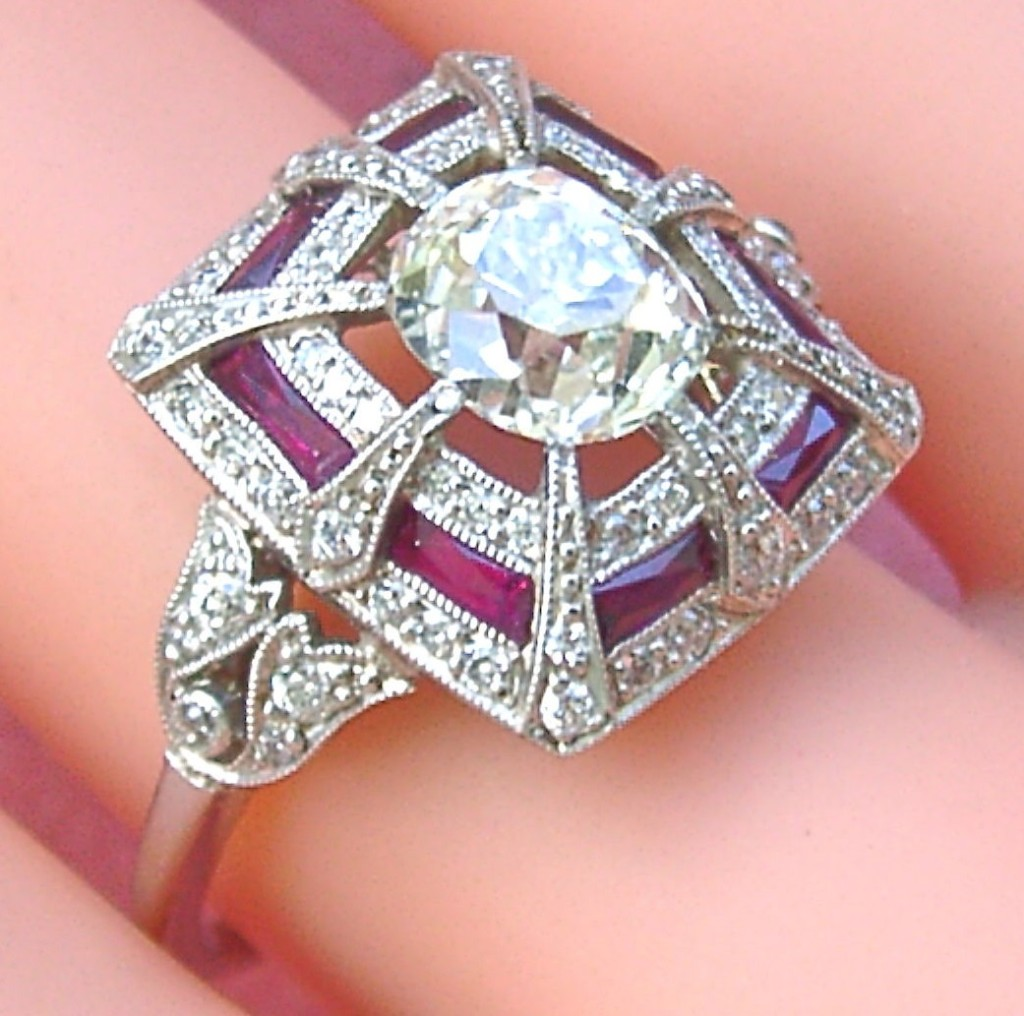 estate diamond product ring congers engagement jewellers