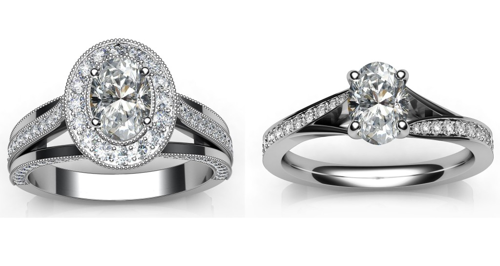Gorgeous Oval Diamond Engagement Rings