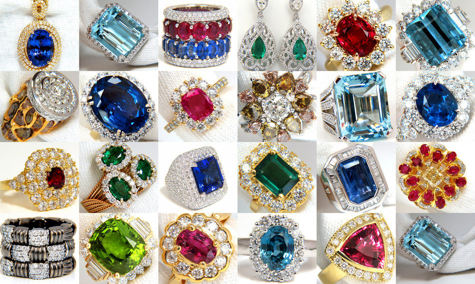 Gorgeous Gemstone Jewelry at Avis Diamond