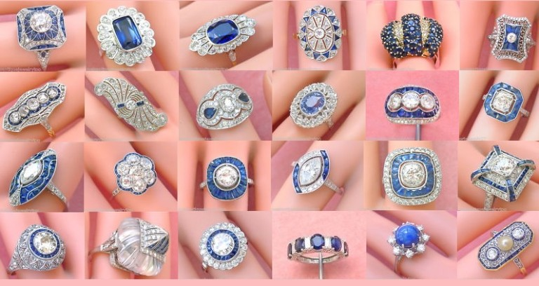 Estate and Vintage Sapphire Rings