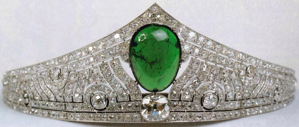 The Chaumet Emerald Tiara