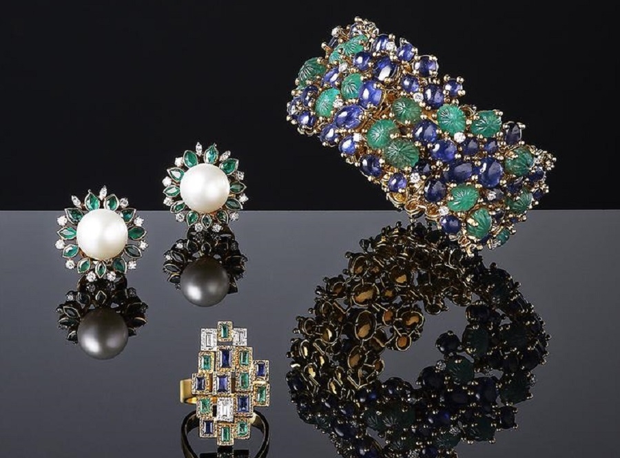 Gorgeous Jewelry by the legendary jeweler Grima