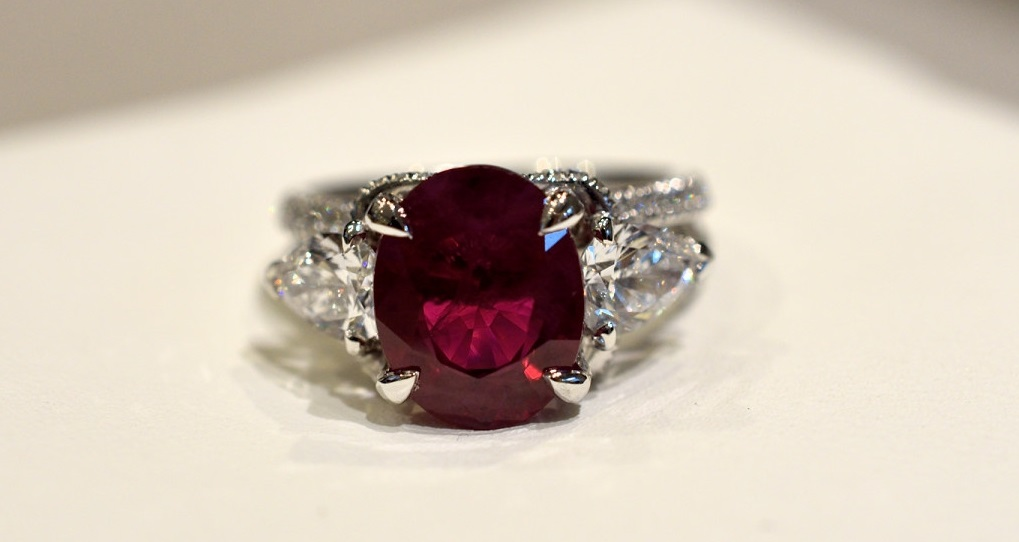 Fabergé Devotion ruby ring