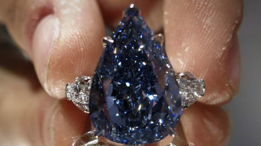 """The Blue"" diamond"