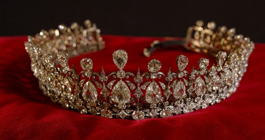 The Fife tiara at Kensington Palace