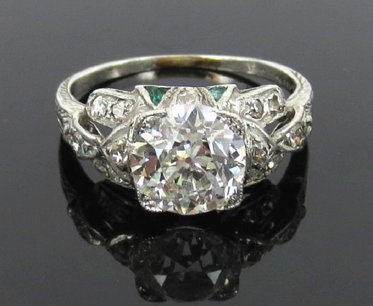 Gorgeous Old Cut Diamond Ring