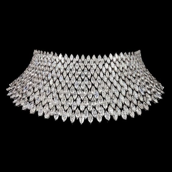 Bayco diamond choker necklace
