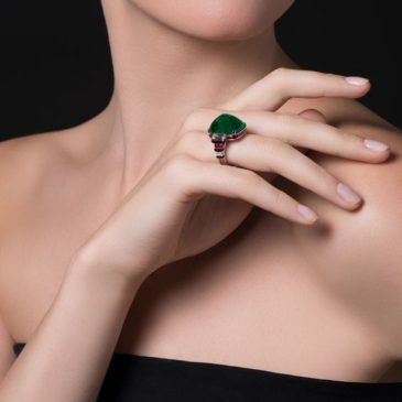 Gorgeous Emerald Ring by Cartier