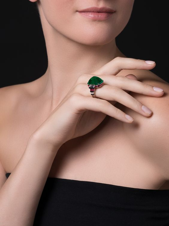 Emerald Ring by Cartier