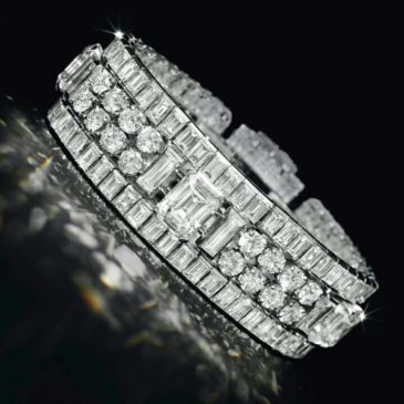 A Spectacular Diamond Bracelet