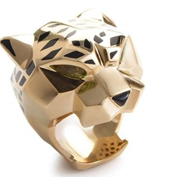 Cartier Panthere 18K Yellow Gold Gemstone Ring